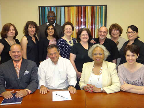 Center for Nonprofit Leadership at Adelphi: Building for Change Contributors
